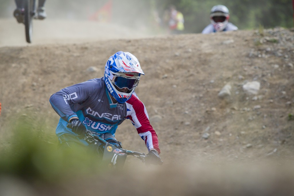 Day 2 practice and qualifying during round 2 of  during The 4X Pro Tour at Nevis Range, Fort William, Scotland, United Kingdom on June 04 2016. Photo: Charles A Robertson